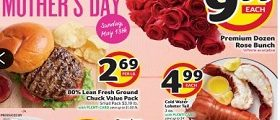 BI-LO Weekly Ad May 9 – May 15, 2018. Happy Mother's Day!