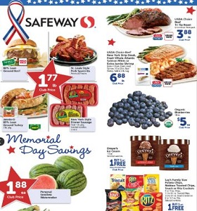 Safeway Weekly Circular May 23 - May 29, 2018. Memorial Day Savings!