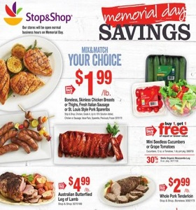 Stop & Shop Weekly Ad May 25 - May 29, 2018. Memorial Day Savings!