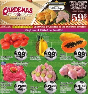 Cardenas Weekly Deals June 13 - June 19, 2018. Chicken Leg Quarters on Sale!