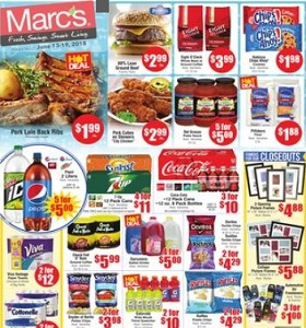 Marc's Weekly Deals June 13 - June 19, 2018. Pork Loin Back Ribs on Sale!