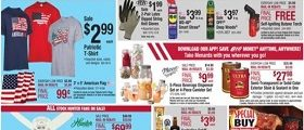 Menards Flyer June 24 - July 4, 2018. 4tyh of July Sale!