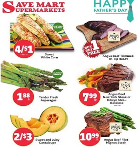 Save Mart Weekly Ad June 13 - June 19, 2018. Happy Father's Day!