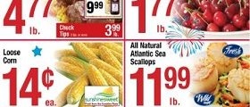 Shaw's Weekly Flyer June 29 – July 5, 2018. 4th Of July Savings!