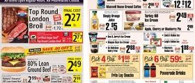 ShopRite Weekly Circular June 24 – June 30, 2018. Top Round London Broil on Sale!