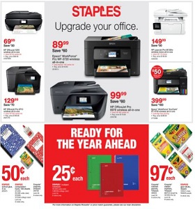 Staples Weekly Ad June 24 - June 30, 2018. Upgrade Your Office!