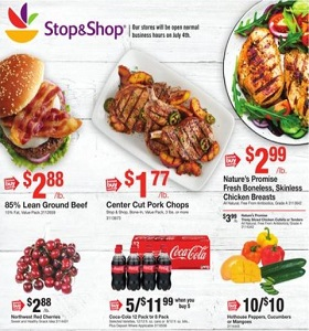 Stop & Shop Weekly Ad June 22 - June 28, 2018. 4th of July Savings!