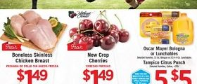 Vallarta Weekly Circular June 20 – June 26, 2018. New Crop Cherries on Sale!