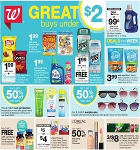Walgreens Weekly Circular June 24 - June 30, 2018. Great Buys Under $2!
