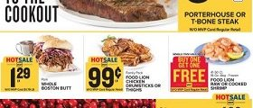 Food Lion Weekly Ad July 11 – July 17, 2018. Invite Savings To The Cookout!