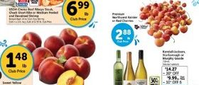 Safeway Weekly Ad July 11 – July 17, 2018. Jumbo Snow Crab Clusters on Sale!