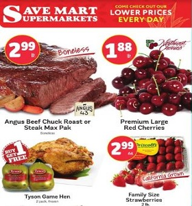Save Mart Weekly ad July 11 - July 17, 2018. Foster Farms Fresh Breast