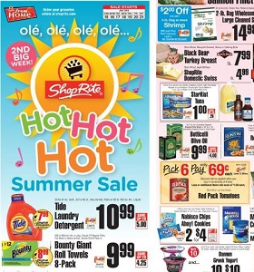 ShopRite Weekly Flyer July 15 - July 21, 2018. Hot Summer Sale!