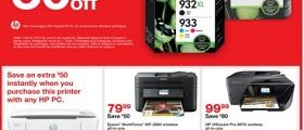 Staples Weekly Ad July 15 - July 21, 2018. HP Ink on Sale!