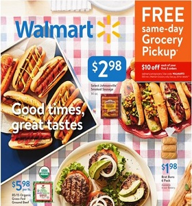 Walmart Weekly Ad July 15 - July 26, 2018. Savings on the Go!