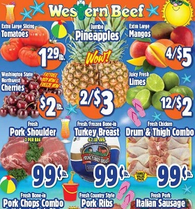 Western Beef Weekly Ads July 13 - July 19, 2018. Fresh Chicken Drum & Thigh Combo