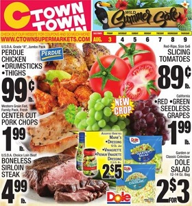 Ctown Weekly Ad August 3 - August 9, 2018. Wild Summer Sale!