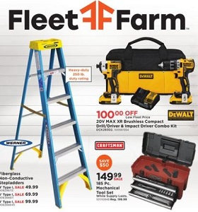 Fleet Farm Weekly Deals August 3 - August 11, 2018. Wrangler Items on Sale!