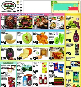 Key Food Weekly Ad August 3 - August 9, 2018. Tampico Punch on Sale!