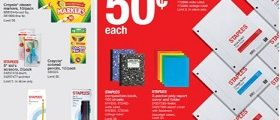 Staples Weekly Flyer August 26 – September 1, 2018. Stock Up For Way Less!