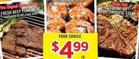 Vallarta Weekly Ad August 29 – September 4, 2018. It's Grilling Time on Labor Day!