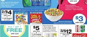 Walgreens Weekly Ad August 5 – August 11, 2018. Smart Value!