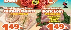 Western Beef Weekly Circular August 17 – August 23, 2018. Ground Beef on Sale!