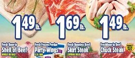 Western Beef Weekly Ad August 31 – September 6, 2018. Fresh Boneless Breast Chicken Cutlets