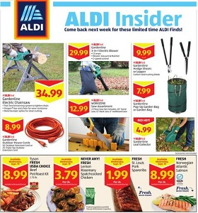 Aldi Weekly Ad September 19 - September 25, 2018. Kid's Activities on Sale!