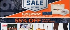 Fleet Farm Weekly Ad September 14 - September 22, 2018. Anniversary Sale!