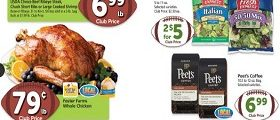 Safeway Weekly Flyer September 12 – September 18, 2018. Foster Farms Whole Chicken