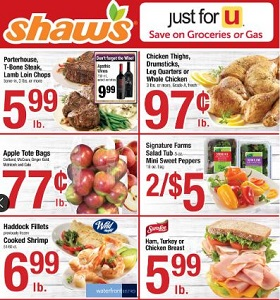 Shaw's Weekly Circular September 14 - September 20, 2018. Fresh Ground Beef on Sale!