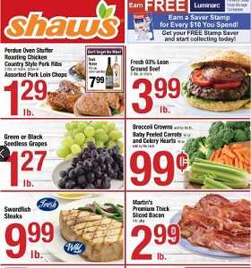 Shaw's Weekly Deals September 21 - September 27, 2018. Grass Fed Ground Beef on Sale!