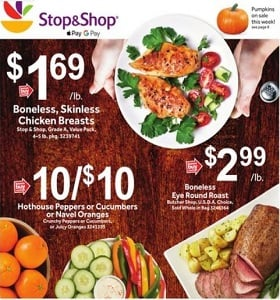 Stop & Shop Weekly Ad September 14 - September 20, 2018. Family Pack Stock Up Event!