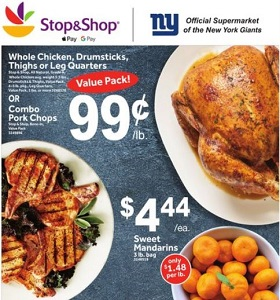 Stop & Shop Weekly Flyer September 21 - September 27, 2018. Combo Pork Chops