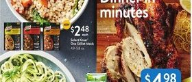 Walmart Weekly Ad September 16 – September 27, 2018. Dinner In Minutes!