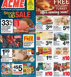 Acme Weekly Flyer October 12 - October 18, 2018. Stock Up Sale!