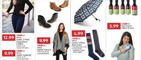 Aldi Weekly Circular October 17 – October 23, 2018. Serra Ladies' Booties