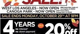 Ashley Furniture Weekly Ad October 16 – October 22, 2018. Fall Flesh Sale!