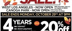 Ashley Furniture Weekly Ad October 23 – October 29, 2018. Fall Flesh Sale!