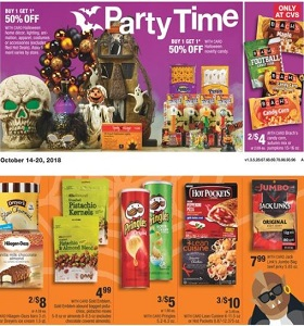 CVS Weekly Specials October 14 - October 20, 2018. Party Time!