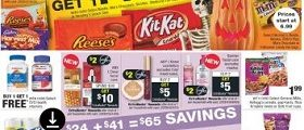 CVS Weekly Ad October 21 - October 27, 2018. Spooky Treats on Sale!