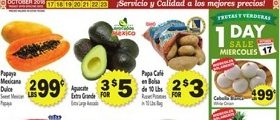 Cardenas Weekly Ad October 17 – October 23, 2018. Tamales on Sale!
