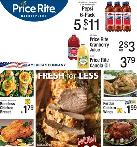 Price Rite Weekly Ad October 12 - October 18, 2018. Fresh For Less!