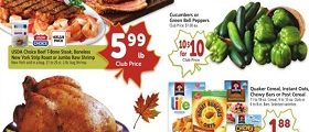 Safeway Weekly Ad October 10 – October 16, 2018. Stock up Sale!