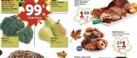 Safeway Weekly Ad October 17 – October 23, 2018. Fresh Whole Atlantic Salmon Fillets