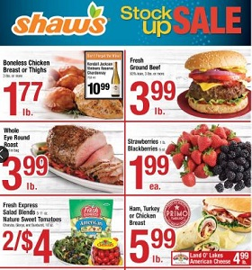 Shaw's Weekly Circular October 12 - October 18, 2018. Stock Up Sale!