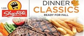 ShopRite Weekly Flyer October 14 - October 20, 2018. Dinner Classics on Sale!