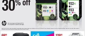 Staples Weekly Ad October 7 – October 13, 2018. Fall Printing Event!