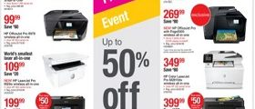 Staples Weekly Flyer October 14 – October 20, 2018. Fall Printing Event!